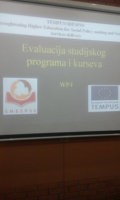 Evaluation of pilot programs and courses developed within TEMPUS project SHESPSS